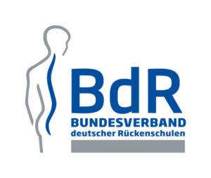 Logo BdR Bundesverband deutscher Rückenschulen